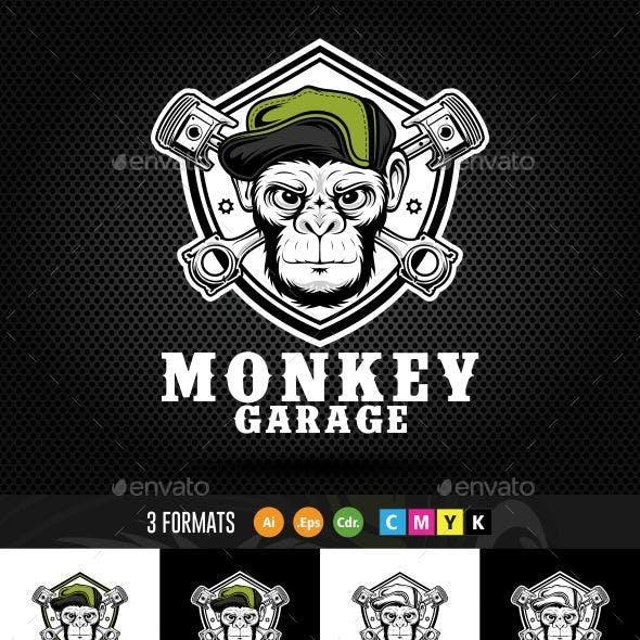 Monkey Piston Logo
