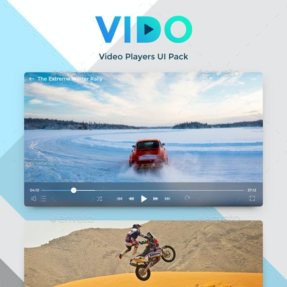 Vido - Video Players Pack