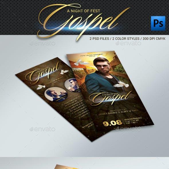 DL Gospel Flyer