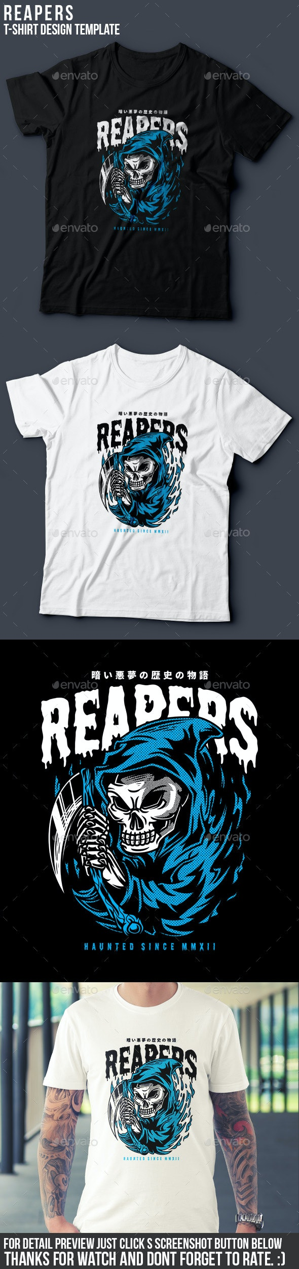 Reapers T-Shirt Design