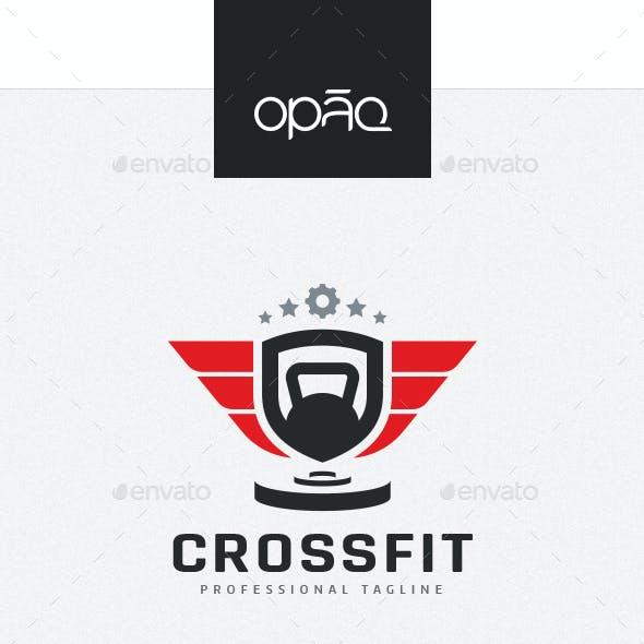 Crossfit Gym Fitness Logo