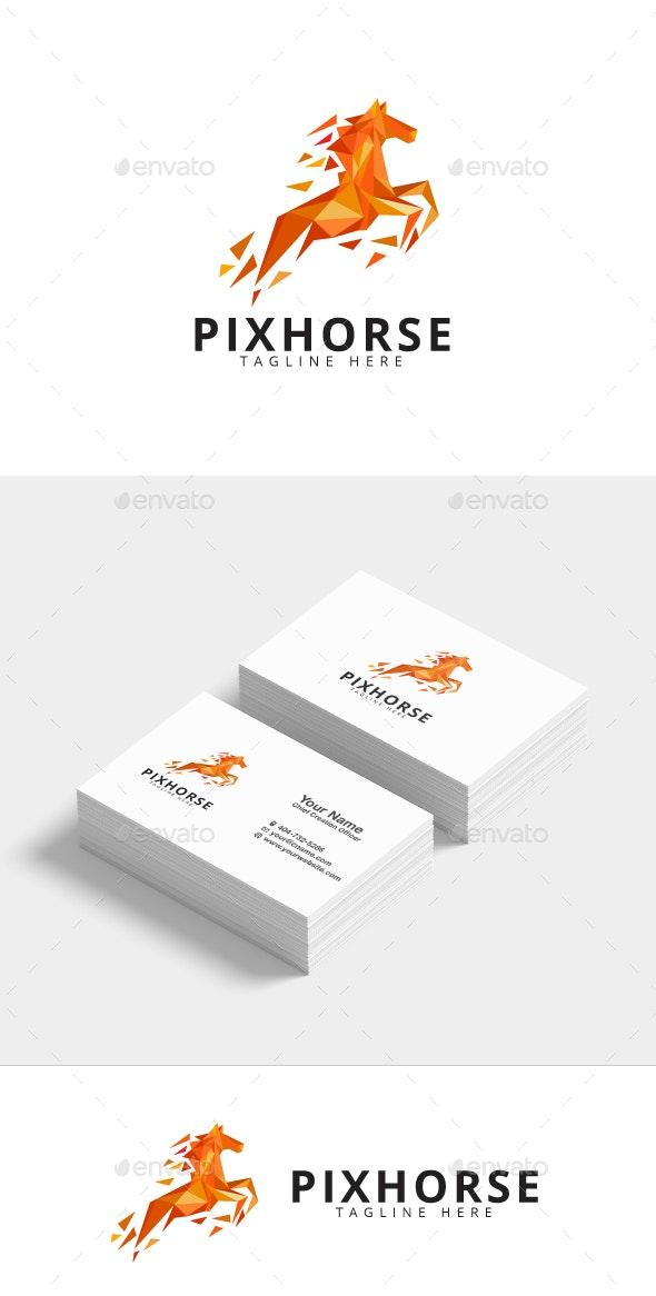 Horse Logo Template - Animals Logo Templates