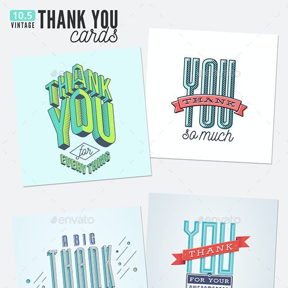 10.5 Thank You Cards