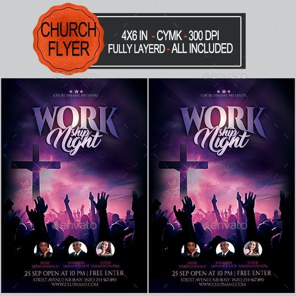 Workship Flyer