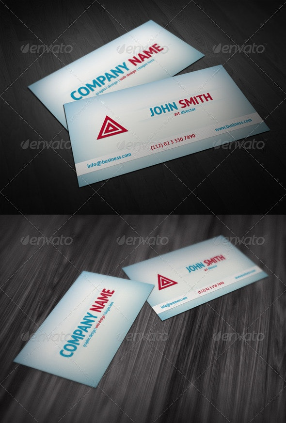 Fresh Business Card - Corporate Business Cards