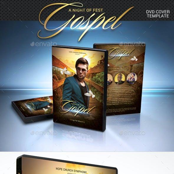 Gospel Fest DVD Cover Template