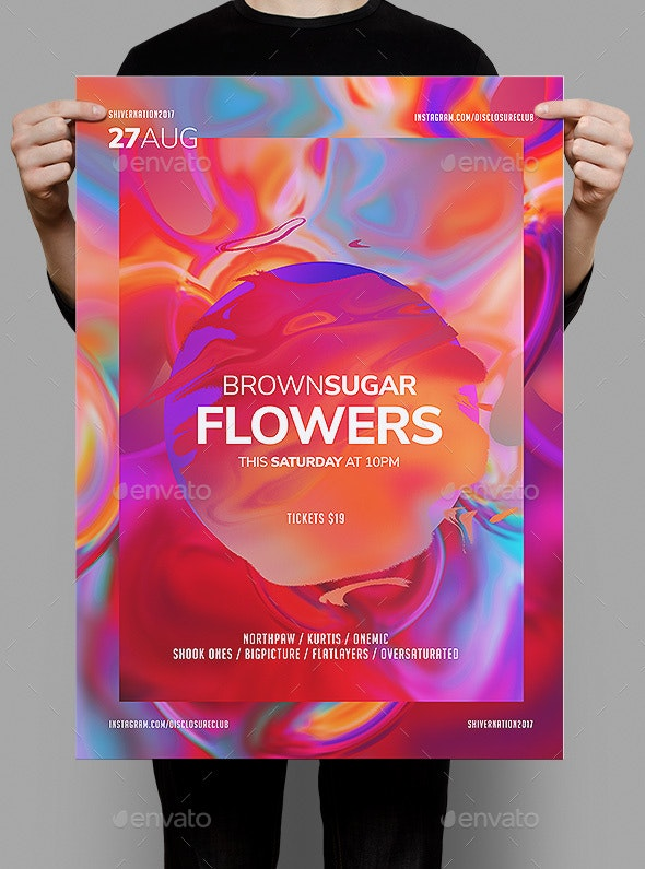 Brownsugar Flyer Template - Clubs & Parties Events