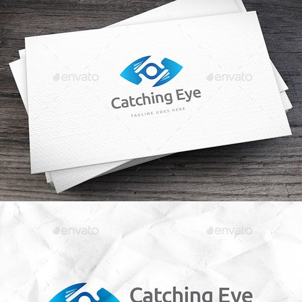 Catching Eye Logo Template