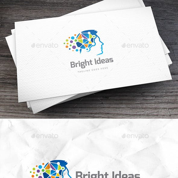 Bright Ideas Logo Template