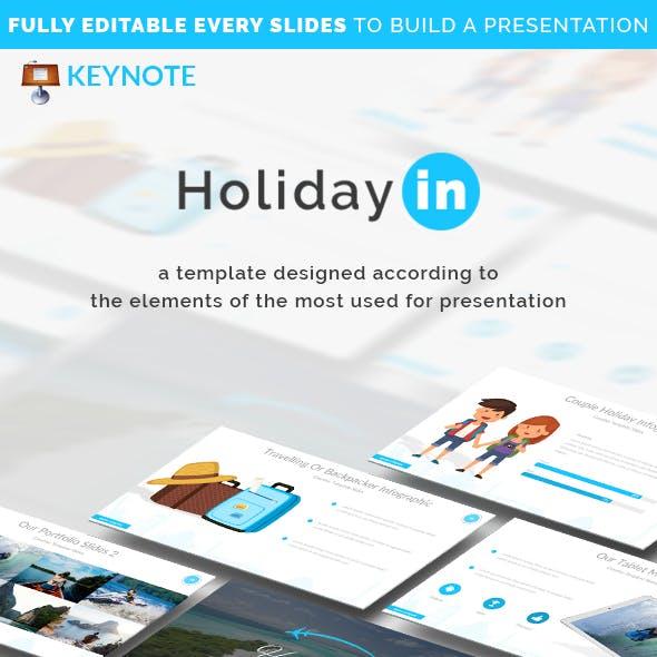 Holiday in Keynote Presentation Template