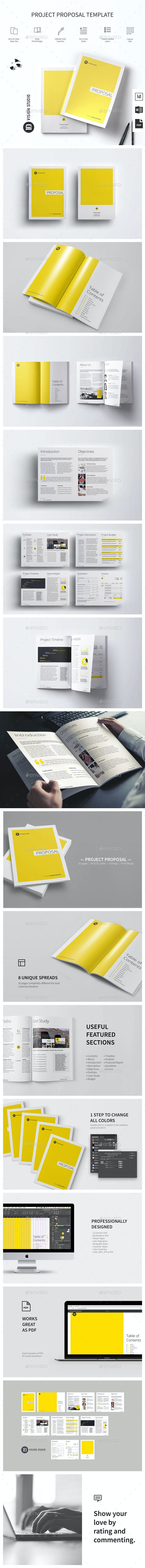 Project Proposal Template 001 - Proposals & Invoices Stationery