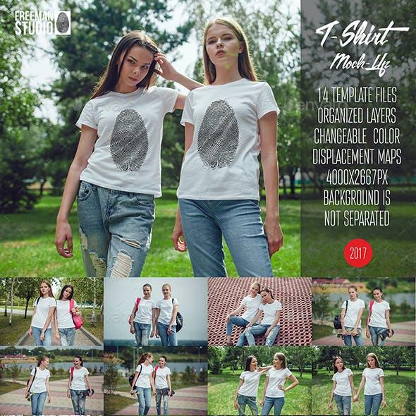 T-Shirt Mock-Up Vol.12 2017
