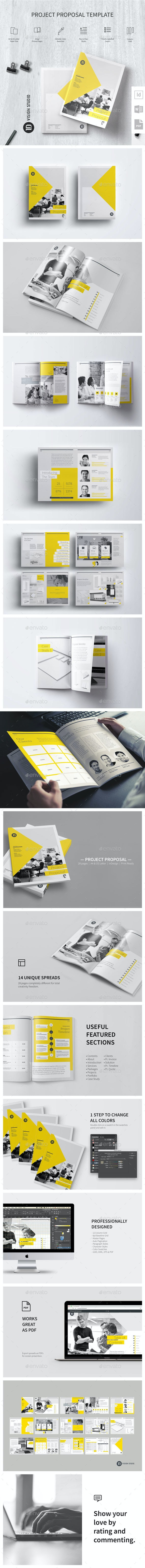 Project Proposal Template 002 - Proposals & Invoices Stationery