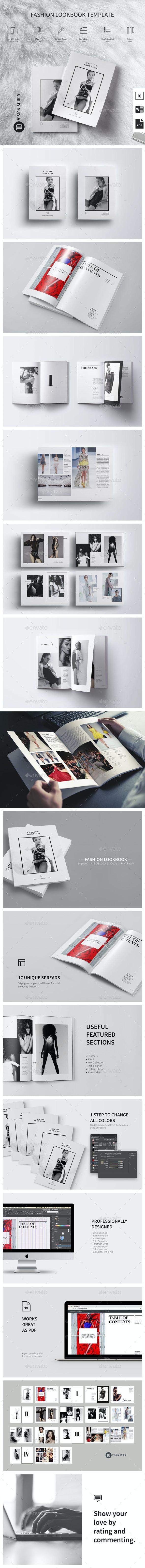 Fashion Lookbook 001 - Catalogs Brochures