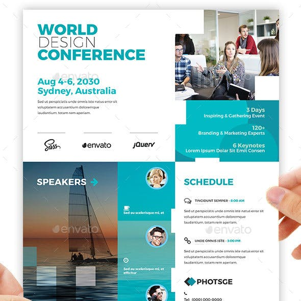 Conference – Training Flyer