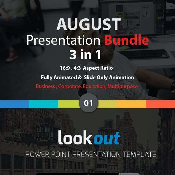 August Bundle 3 in 1 Presentation