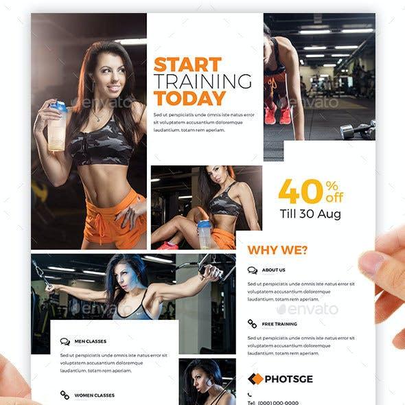 Fitness / Gym Flyer