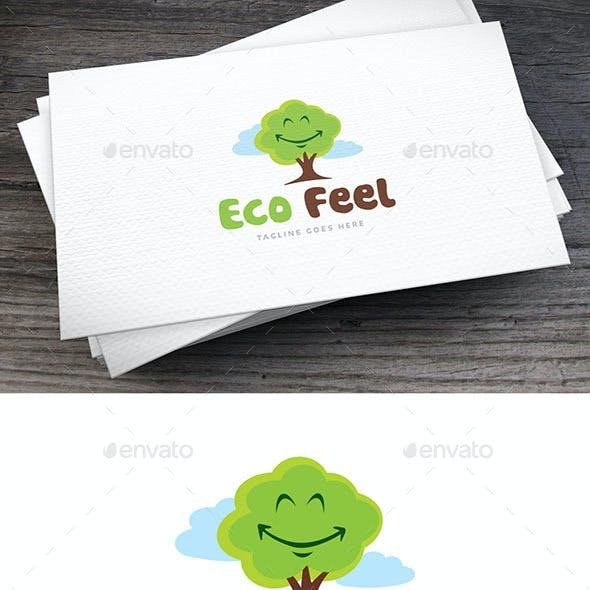 Eco Feel Logo Template