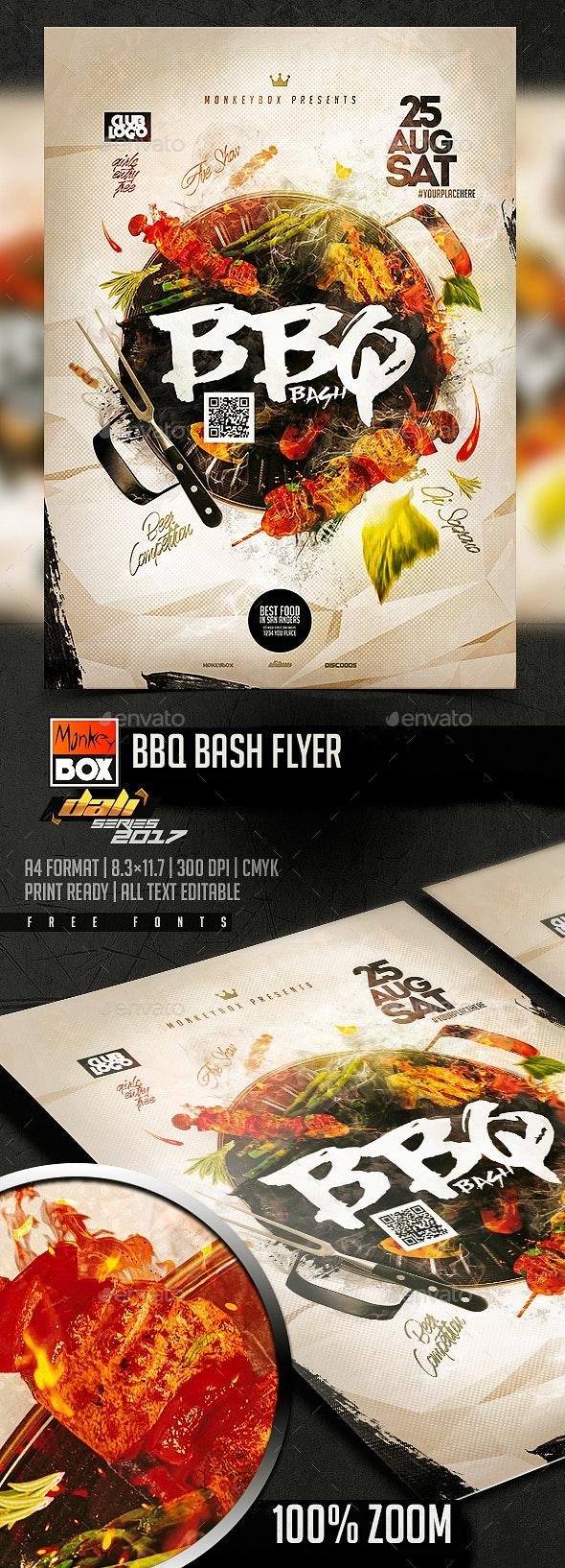 BBQ Bash Flyer - Flyers Print Templates