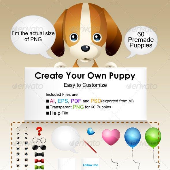 Puppy Mascot