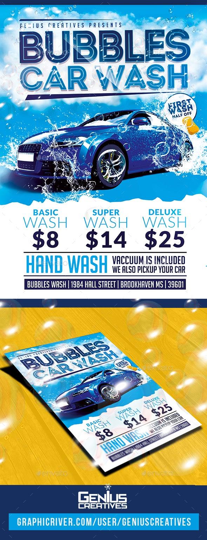 Car Wash Flyer by GeniusCreatives | GraphicRiver