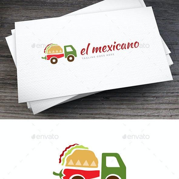 El Mexicano Logo Template