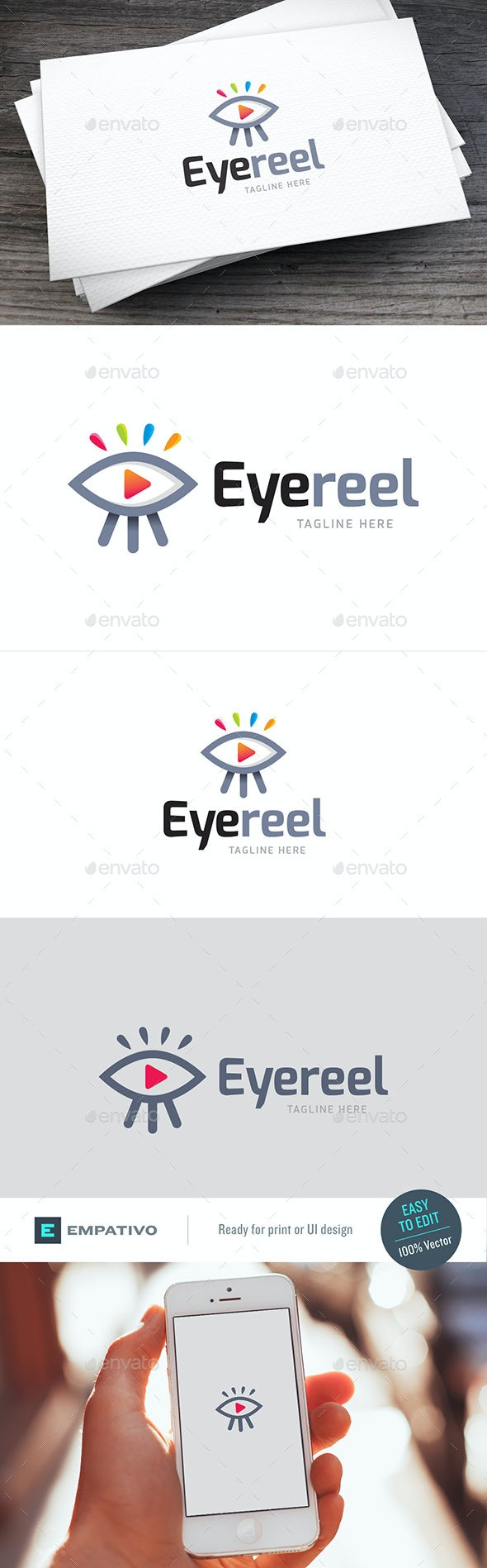 Eyefilms Logo Template - Objects Logo Templates