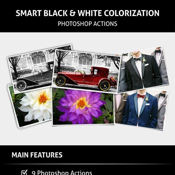 Smart Black & White Colorization