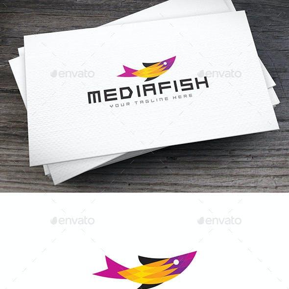 Mediafish Logo Template
