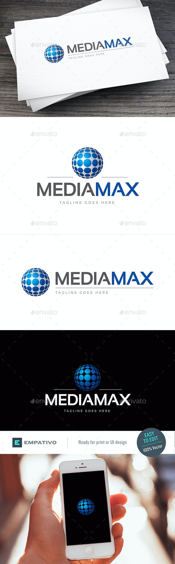 Mediamax Logo Template - Symbols Logo Templates