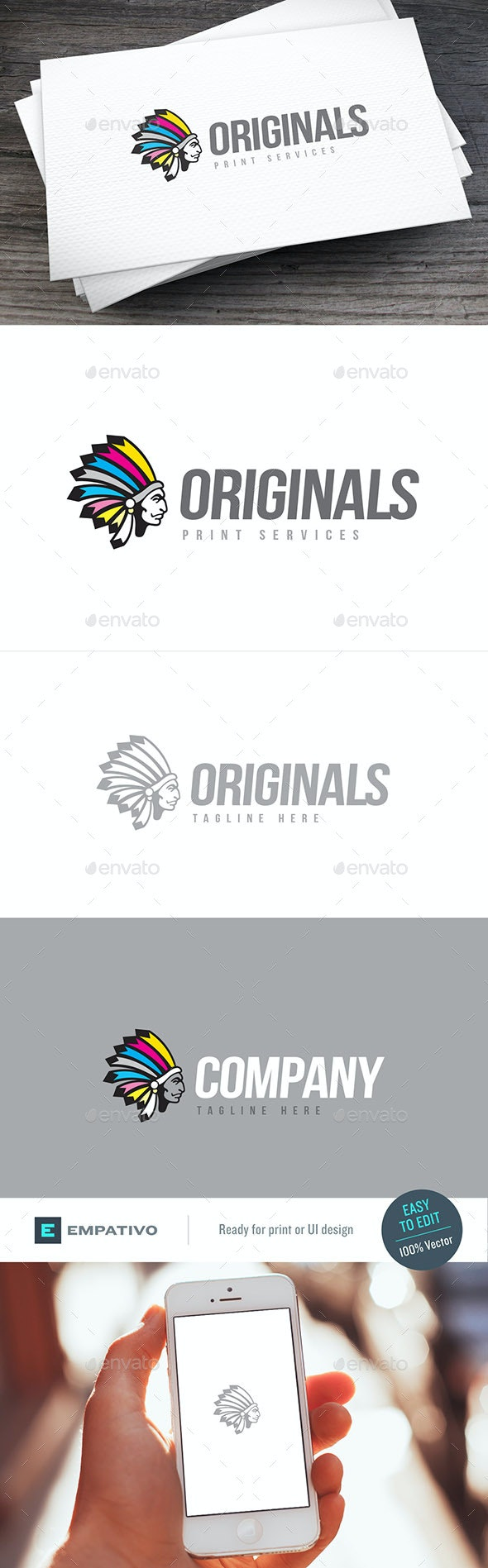 Originals Logo Template - Humans Logo Templates