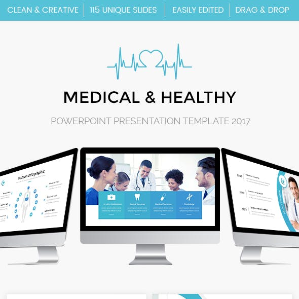 Medical - Healthy Powerpoint Template
