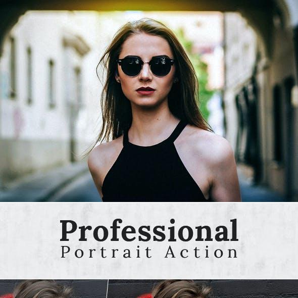 Professional Portrait Action