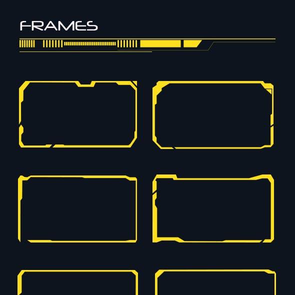 50 Hi-tech Frames Custom Shapes