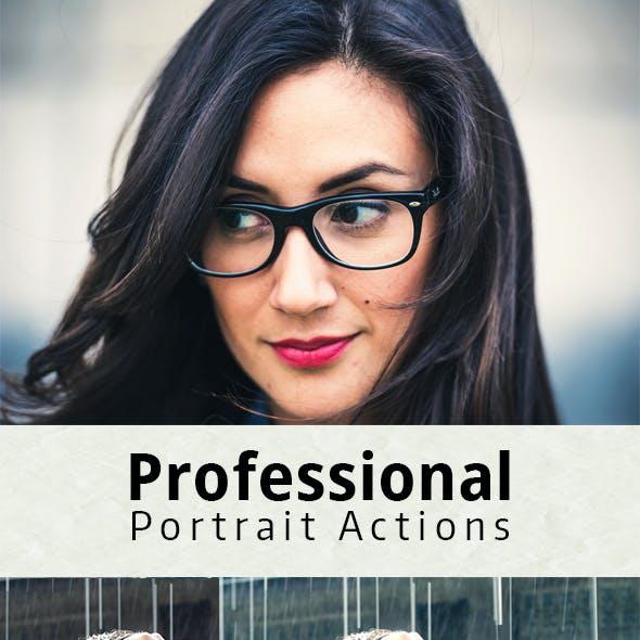 Professional Portrait Actions