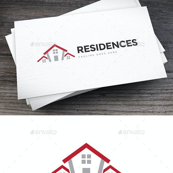 Residences Logo Template