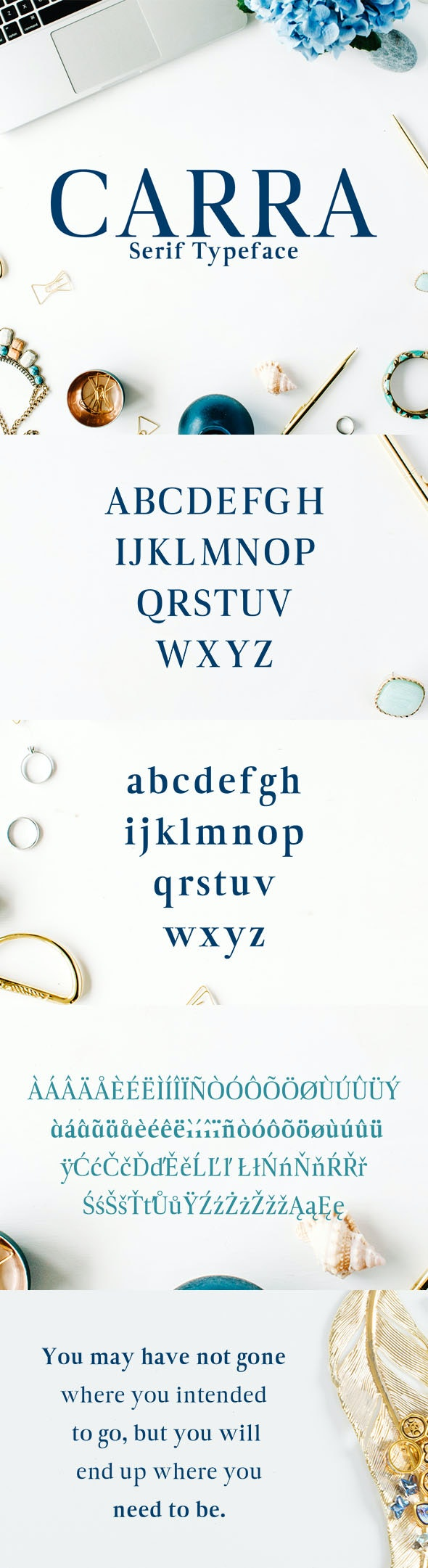 Carra Serif Typeface - Serif Fonts