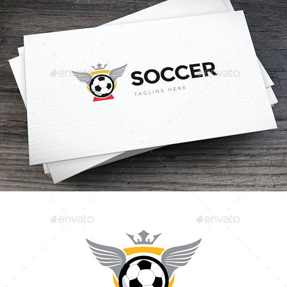 Soccer Cup Logo Template