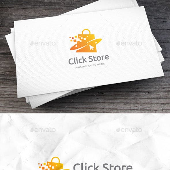 Click Store Logo Template