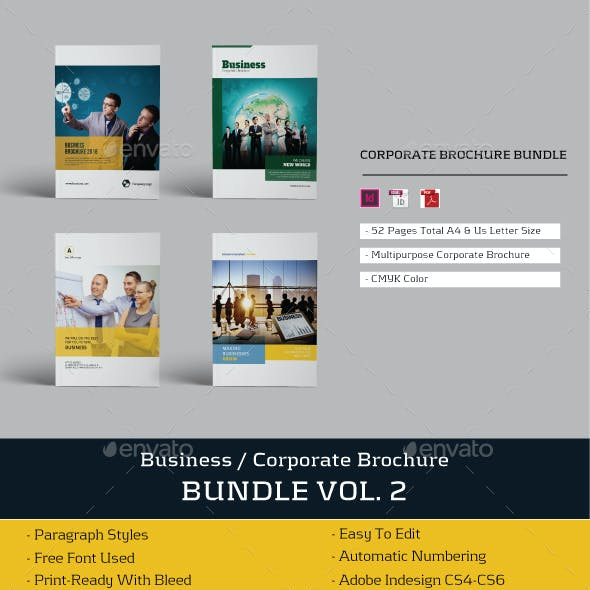 Businees Brochure Bundle Vol. 2