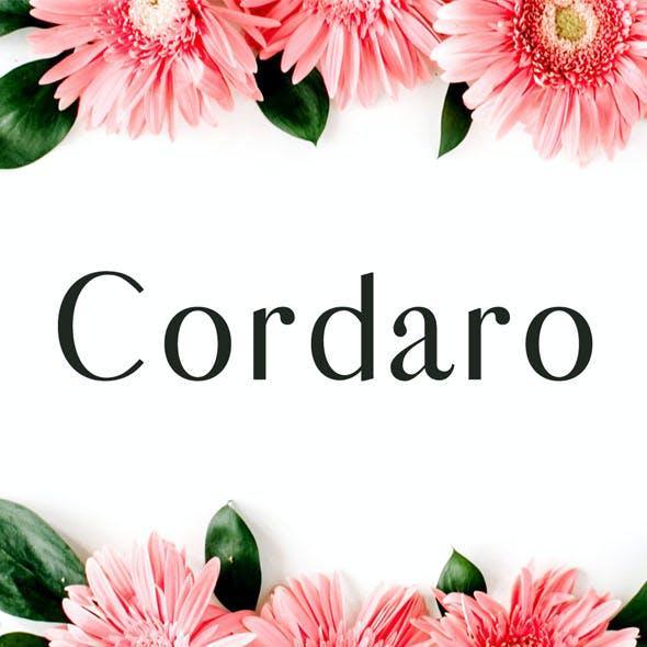 Cordaro Serif Typeface