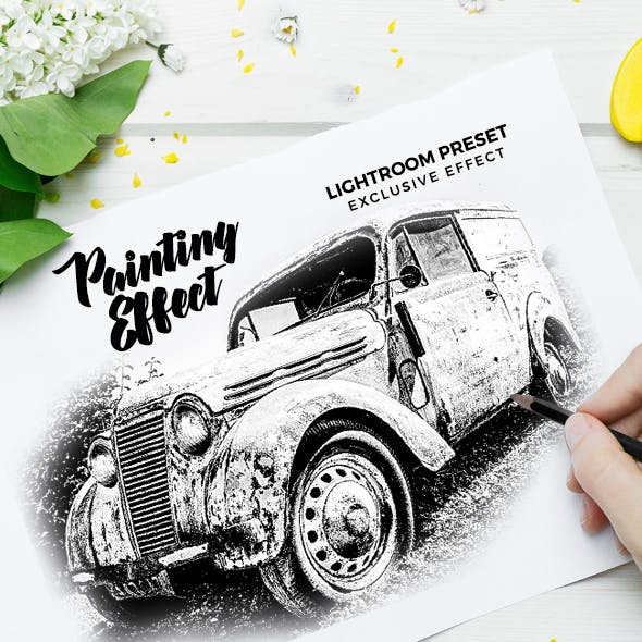 Hand Drawing Painting Effect Lightroom Preset