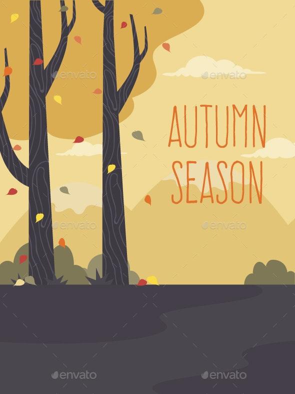Autumn Landscape - Seasons Nature