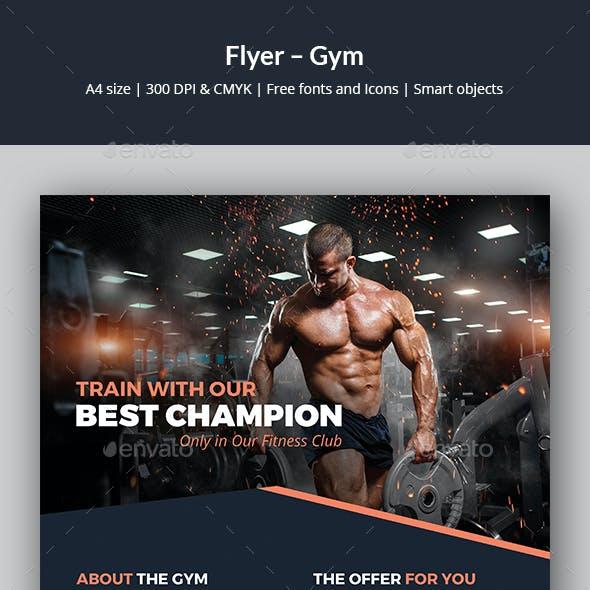 Flyer – Gym