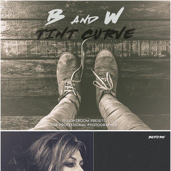 B&W Tint Curve Lightroom Presets