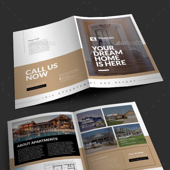 Real Estate Bifold Brochure