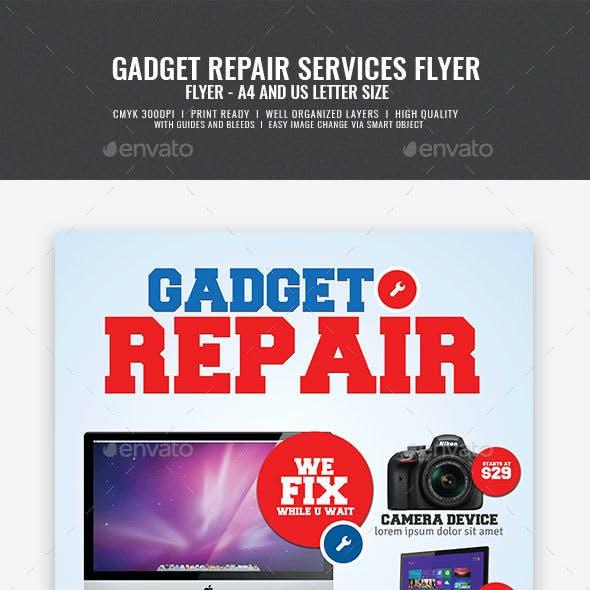 Electronic Gadget Repair Flyer