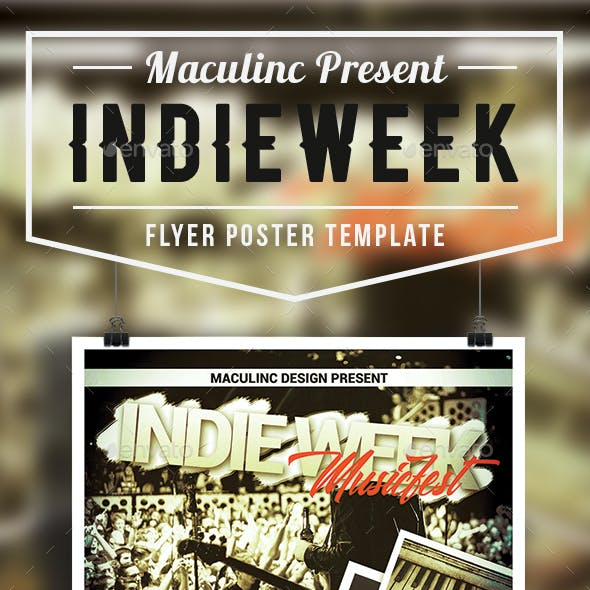 Folk Music Flyer/Poster