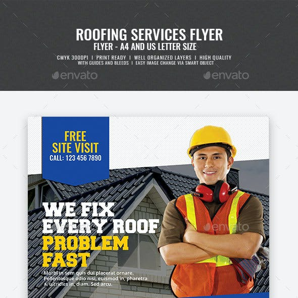 Roofing Flyer