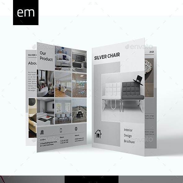 Interior Design Bifold Brochure